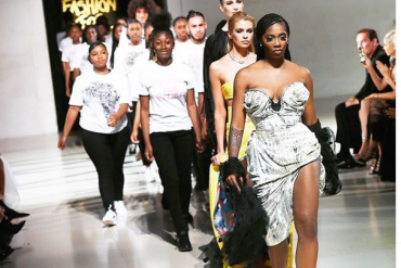 [Video]: Tiwa Savage Walks The Runway For Naomi Campbell's 'Fashion For Relief'