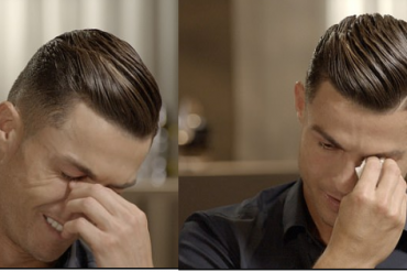 Cristiano Ronaldo Breaks Down In Tears During Emotional Interview