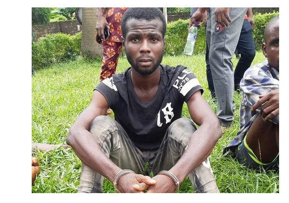 Capture 68 - Police Arrest Man Who Robs Prostitutes In Edo