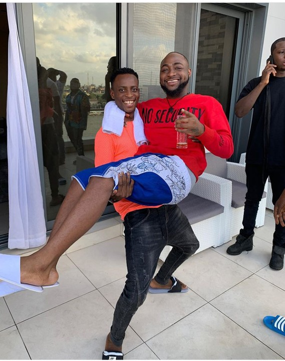 Davido and Instagram Comedian Sydneytalker