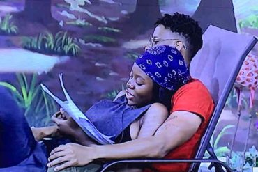 See What Diane, Elozonam Were Caught Doing In HOH Room (Video)