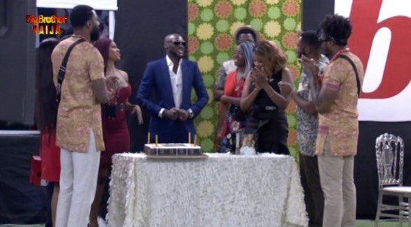 Tuface Idibia at the Big Brother House