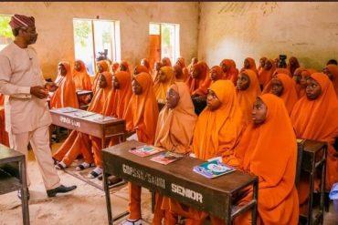 Speaker Gbajabiamila Teaches In Govt-Owned School In Katsina (PHOTOS)