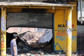 Foreign-owned stores in South Africa were looted by protesters in xenophobic attacks