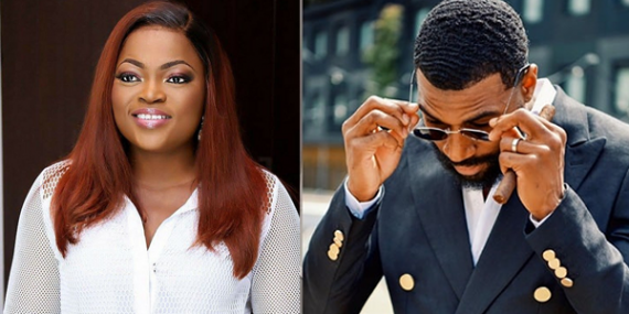Funke Akindele and Mike
