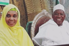 Governor Ganduje and Wife