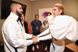 Drake and Celine Dion
