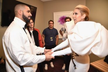 Celine Dion Begs Drake Not To Tattoo Her Face On His Body