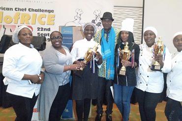 Nigerian Chef Folashade Shoyonbo Wins Jollof Rice Contest