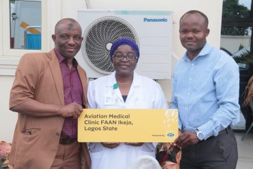 MTN Equips Aviation Medical Clinics Ikeja Under its What Can We Do Together (WCWDT) Initiative