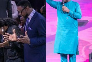 Matthew Ashimolowo Worships At COZA; Says Fatoyinbo Is In Covenant With God