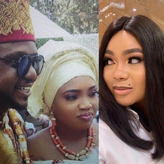 Nollywood Actor, Ken Erics and his wife Onyi Adaba and Actress, Rechael Okonkwo