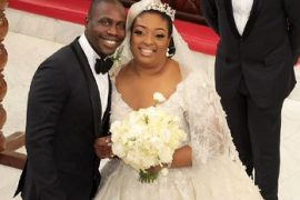 Olujonwo Obasanjo and estranged wife, Temitope Adebutu