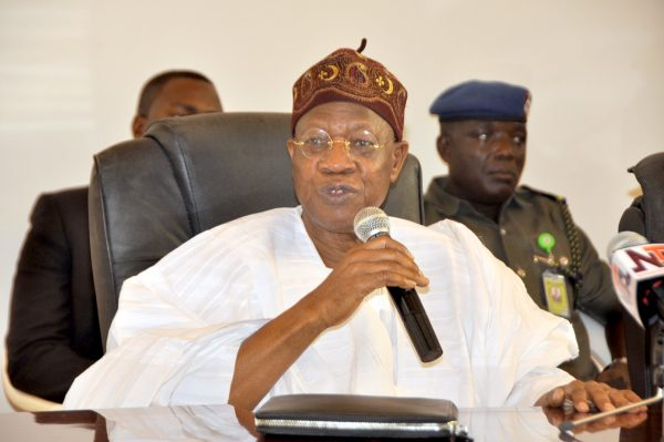 Insurgency: Destruction Worse Than Imagined - Lai Mohammed