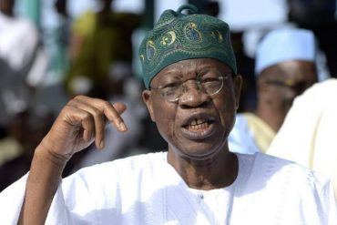 Terrorism: Security Gradually Returning To Troubled States: Lai Mohammed