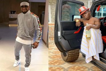 Shatta Bandle Spotted With Paul Okoye In His Mansion (Photo)