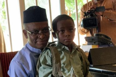Nigerians React As El-Rufai Enrols Son In Public Primary School