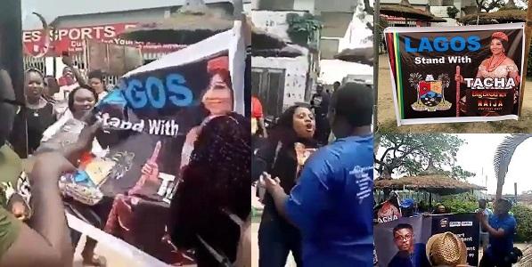 Seyi, Tacha's fans clash in Lagos