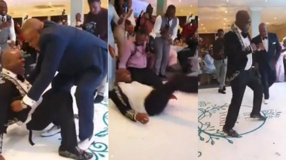 Shina peters fall while dancing