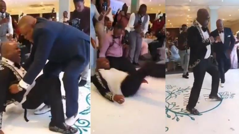 Shina peters fall while dancing