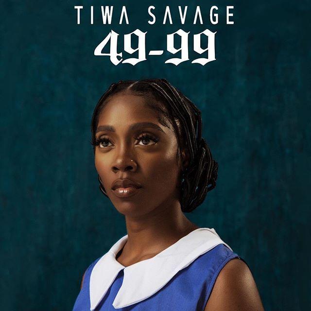 Tiwa Savage's 49-99 song cover