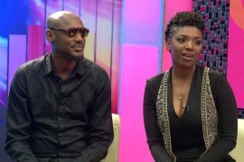 Tubaba and wife, Annie Idibia