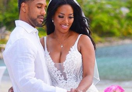 Kenya Moore and ex-husband