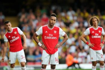 Arsenal Throw Away Two Goal Lead Against Watford