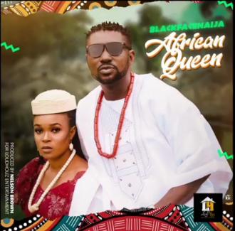 Blackface album cover for African qqqqqqqqqueen