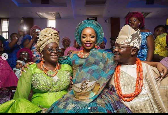 c 3 - BamBam Shares More Photos From Her Wedding Ceremony In Ogun