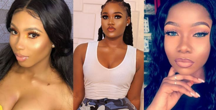 BBNaija Cee, Tacha, and Mercy