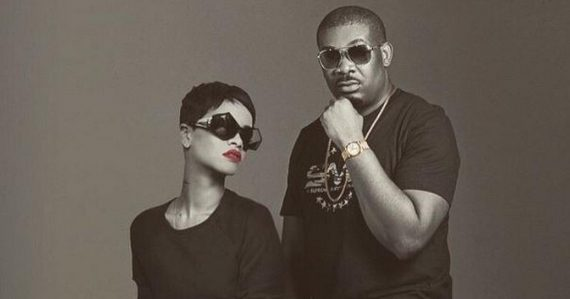 Don Jazzy Rihanna