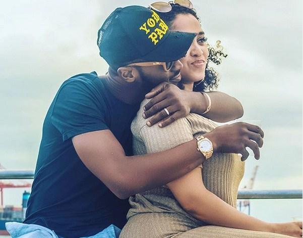 Dbanj and wife
