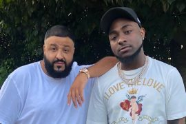 Dj Khaled and Davido
