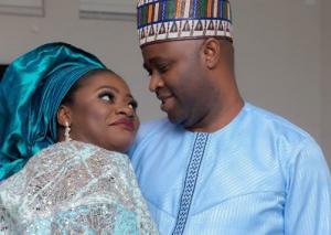 Femi Adebayo and girlfriend turned wife