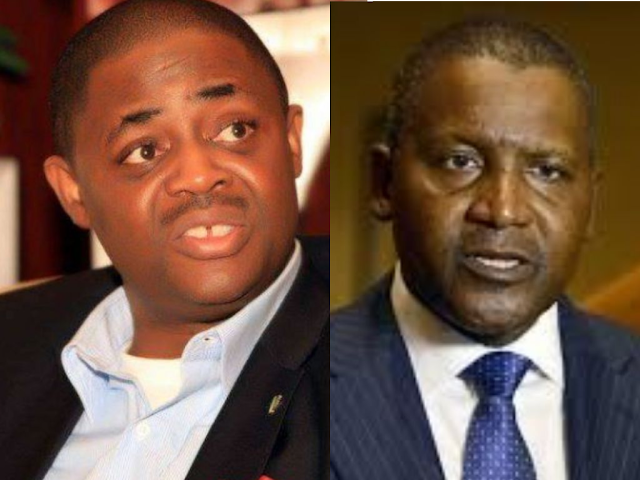 fani kayode and Dangote
