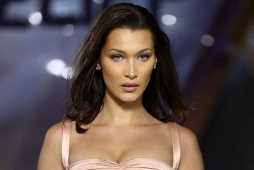 Victoria's Secret Model, Bella Hadid Poses Topless For Pop Magazine Cover (Photo)