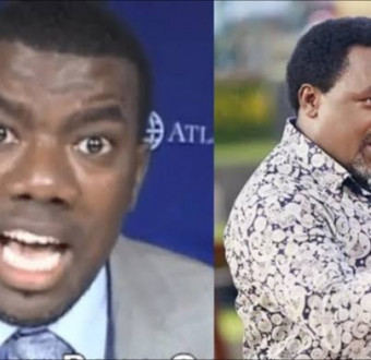 T.B Joshua and Reno Omokri