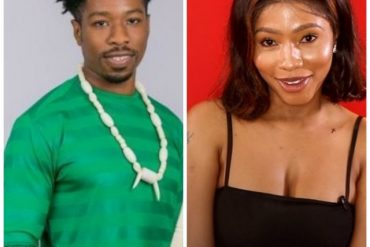 BBNaija: Mercy 'Exposes' Ike's Manhood As She Pulls His Short Down (Video)