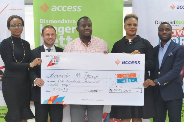 image004 600x398 - Access Bank: Trader, 1,015 others win big in DiamondXtra Season 11