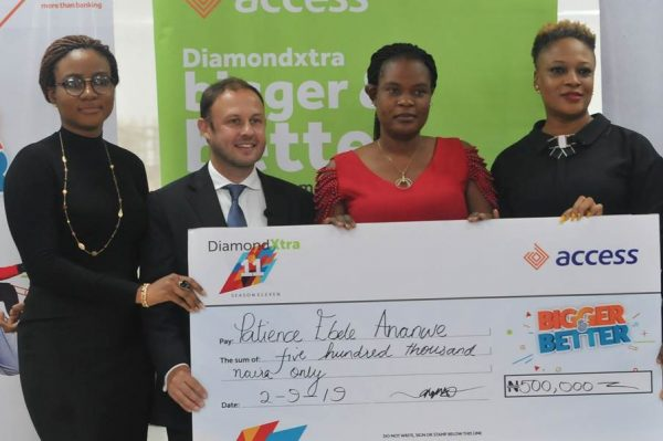 image006 600x399 - Access Bank: Trader, 1,015 others win big in DiamondXtra Season 11