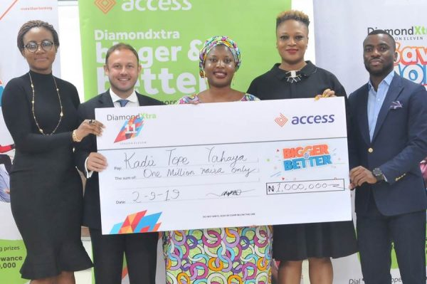 image008 600x399 - Access Bank: Trader, 1,015 others win big in DiamondXtra Season 11