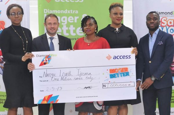 image012 600x398 - Access Bank: Trader, 1,015 others win big in DiamondXtra Season 11