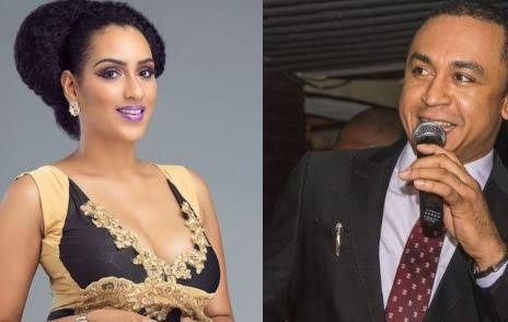Juliet Ibrahim and Daddy Freeze