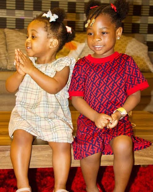 Imade and Hailey Adeleke