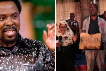 Xenophobia: T.B Joshua Donates N12m To South Africa Returnees