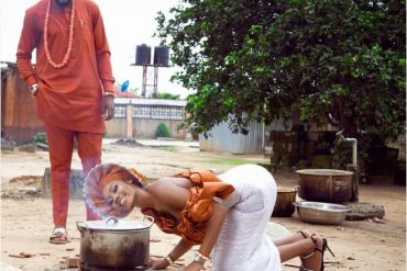 Instagram Twerker, Jane Mena Grinds On Hubby During Their Traditional Marriage (Video)
