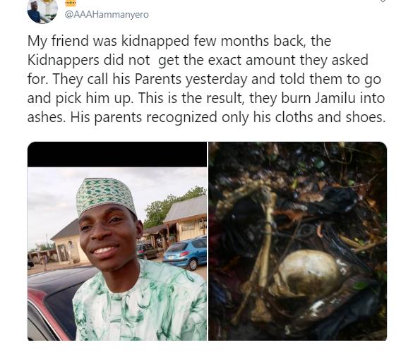 Kidnap Victim