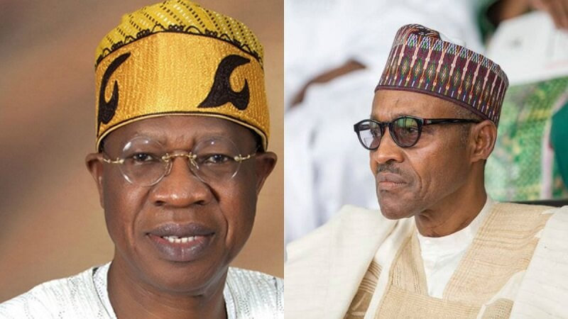 Lai mohammed and Buhari
