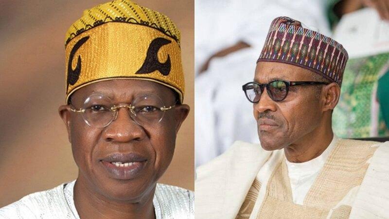 Lai mohammed and Buhari